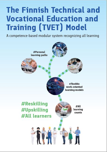 Finnish Technical and Vocational Education and Training -esite